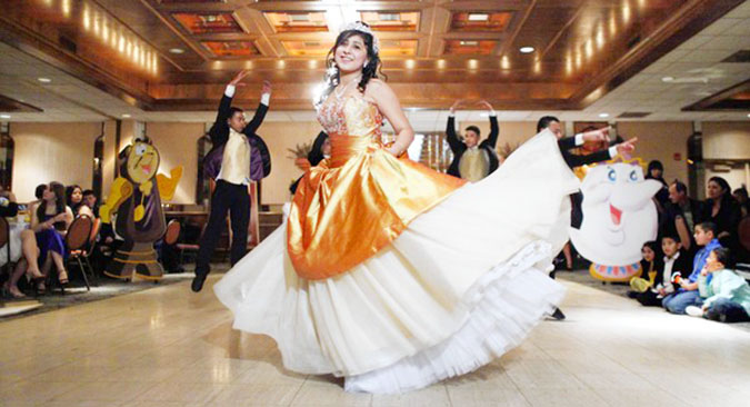 Quinceañera First Dance choreography in Dallas and Fort Worth