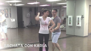 Advance Salsa & Bachata Lessons