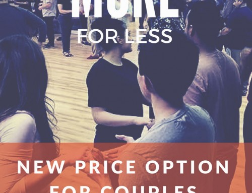 New couple pricing option with savings $165