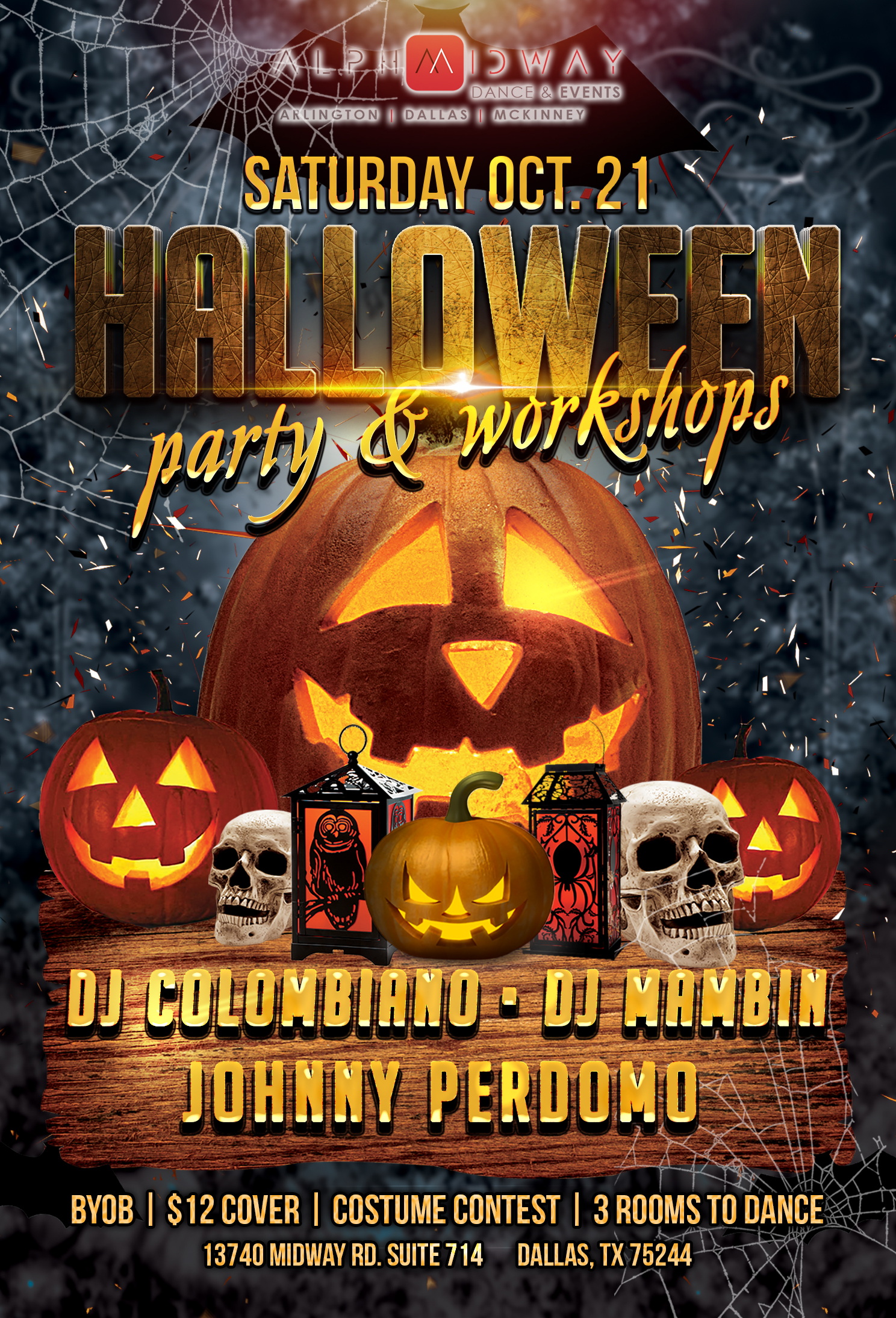 2017 halloween party & workshops – alpha midway dance studio in