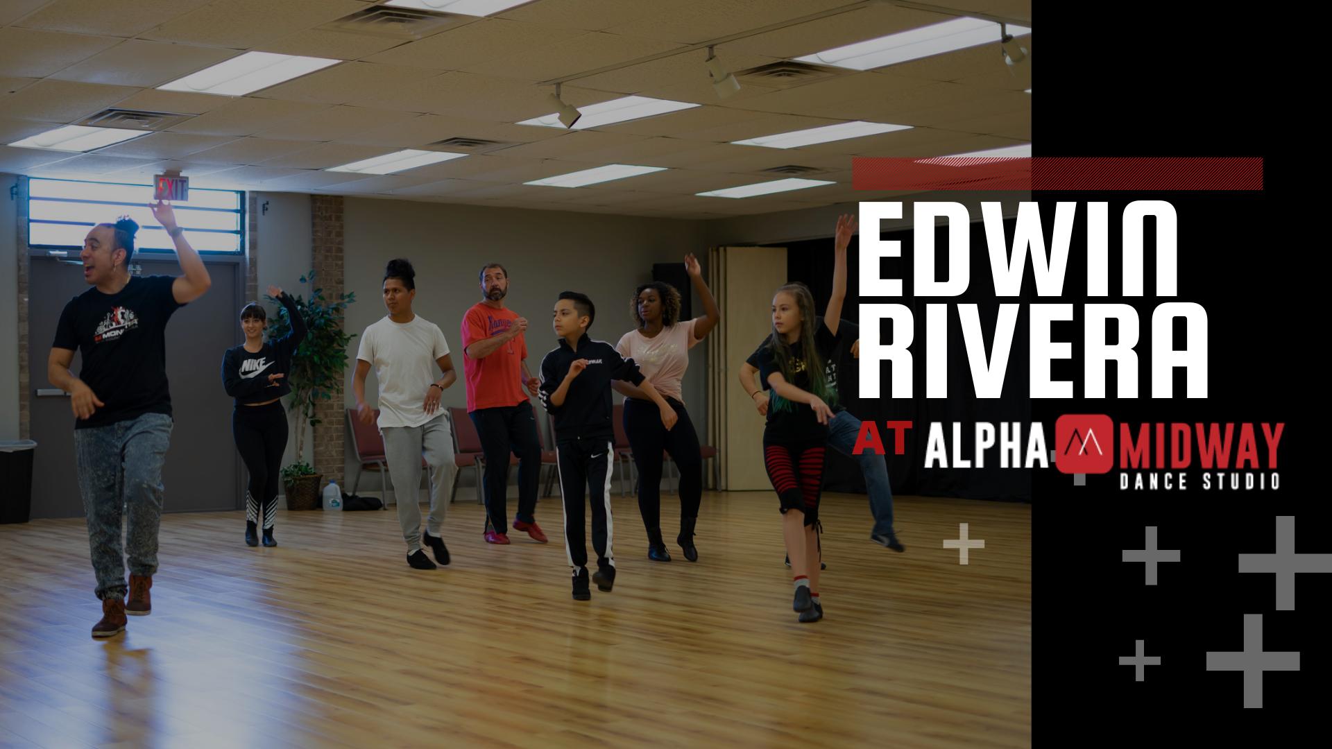 Edwin Rivera at Alpha Midway