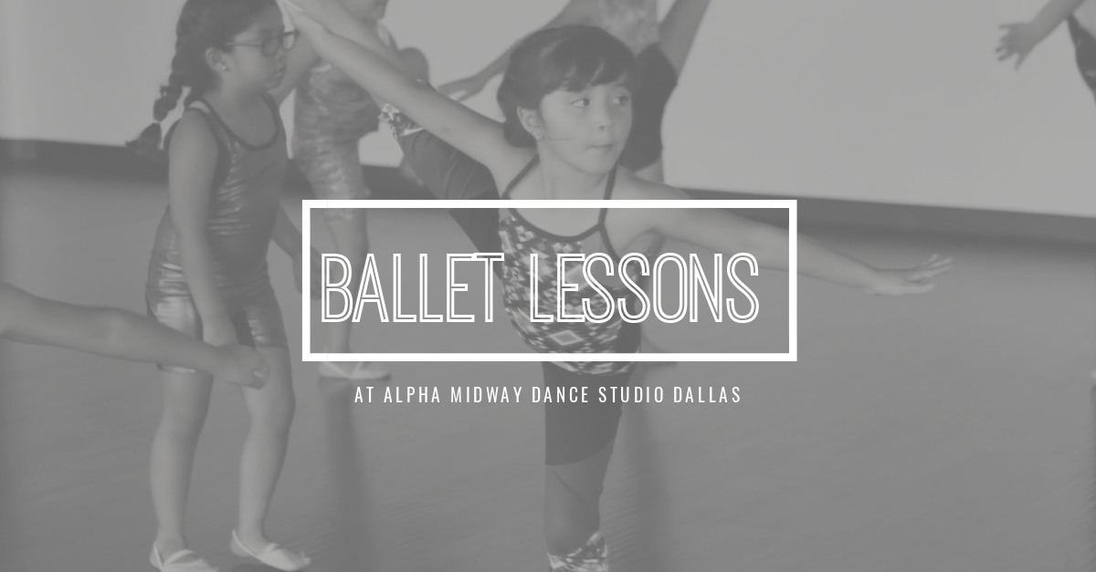 Ballet Lessons at Alpha Midway Dance Studio