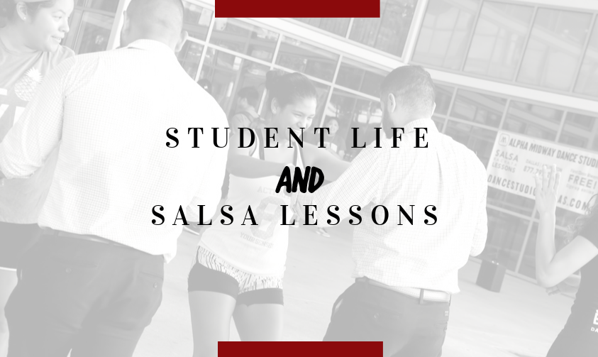 STUDENT LIFE SALSA LESSONS AT MOUNTAIN VIEW COLLEGE