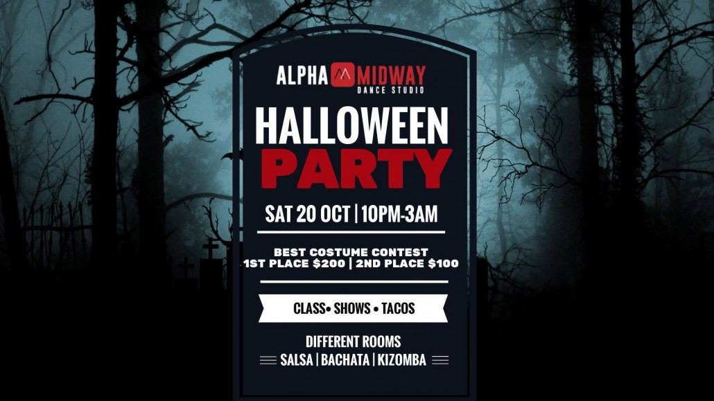 alpha midway halloween party