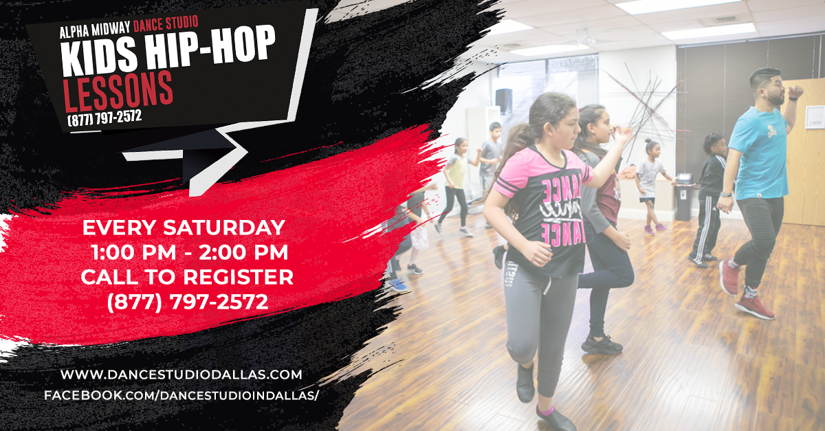 Kids Hip-Hop Dance Lessons in Dallas, Texas