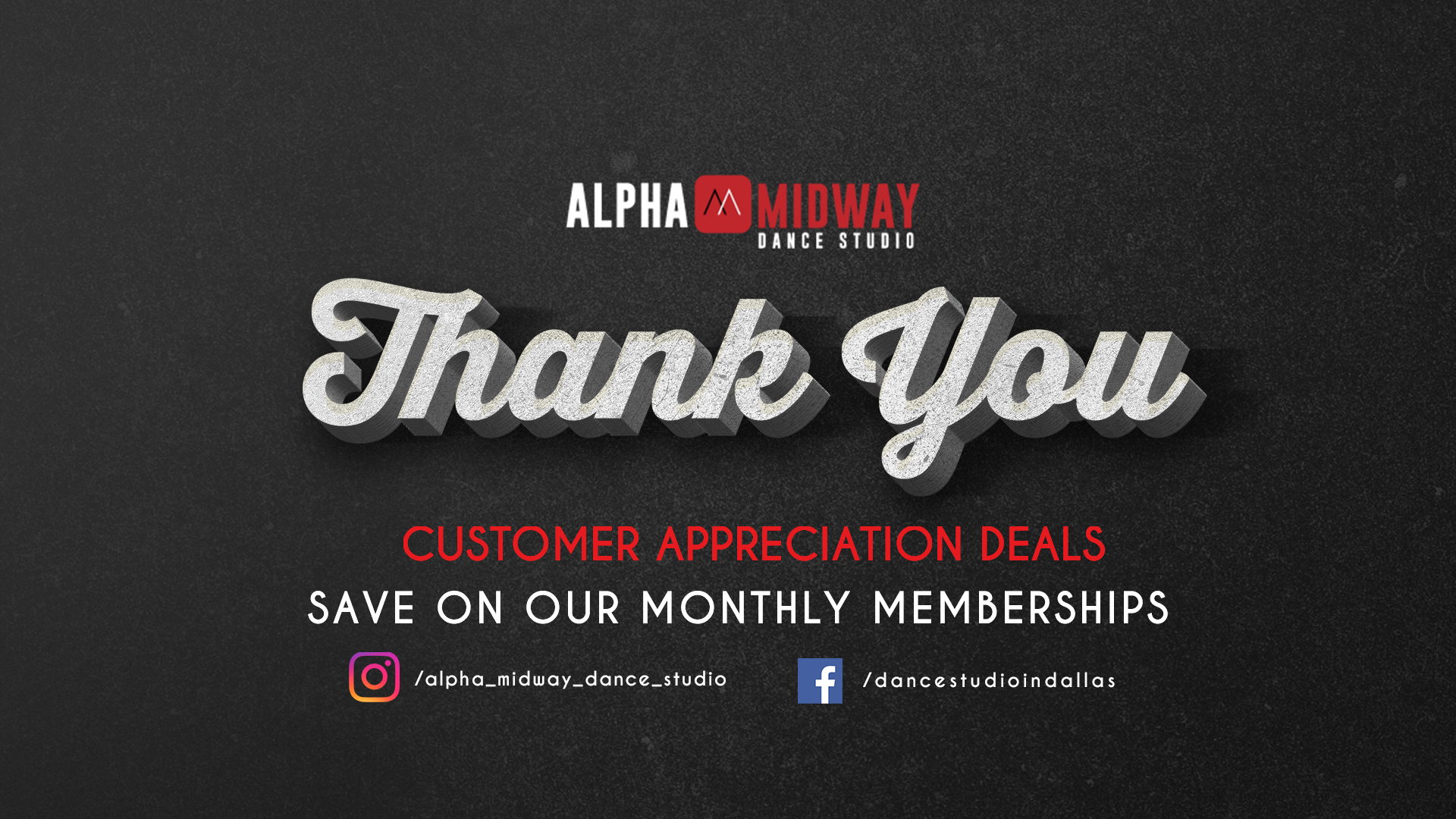 Customer Appreciation Deals